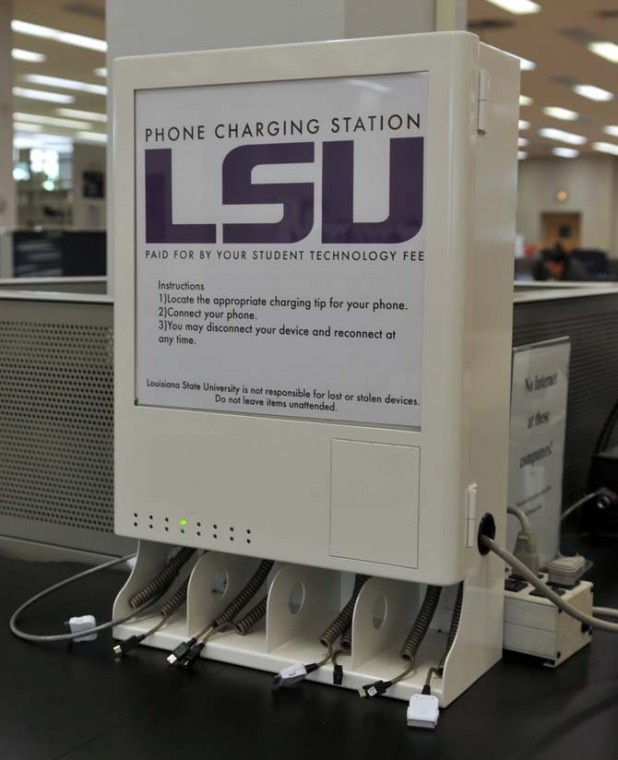 lsu charging station model in middleton and union